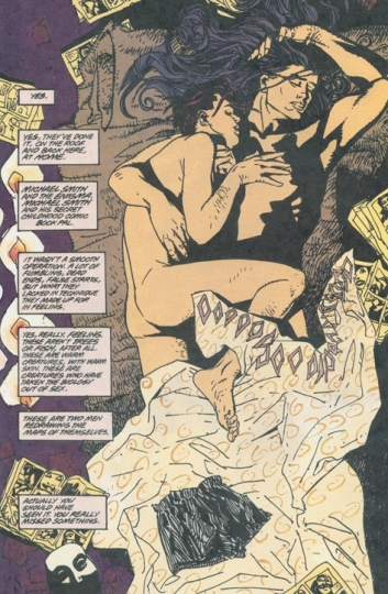 Image result for Peter Milligan and Duncan Fegredo The Enigma