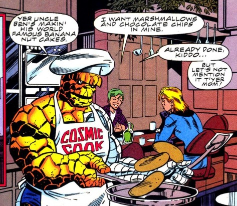 There's no need for me to make a joke here because you are still chuckling from reading that apron.