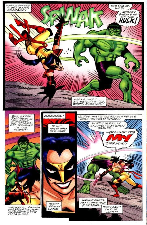 Oh, no big deal, guess I'll just hit the Hulk.