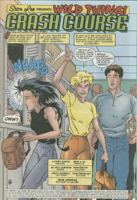 Wild Thing - Daughter of Wolverine #1 - Page 2