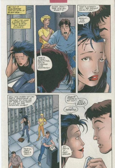 Wild Thing - Daughter of Wolverine #1 - Page 3