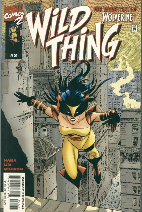 Wild Thing - Daughter of Wolverine #2 - Page 1