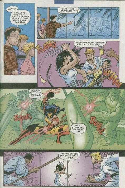 Wild Thing - Daughter of Wolverine #2 - Page 10