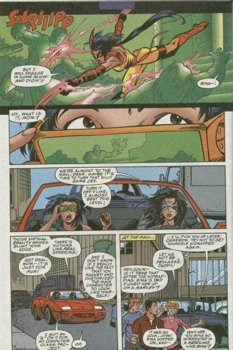 Wild Thing - Daughter of Wolverine #2 - Page 3