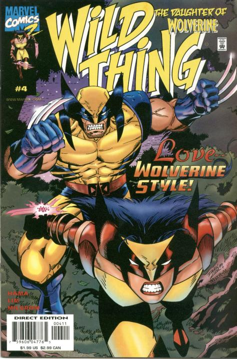 Wild Thing - Daughter of Wolverine #4 - Page 1