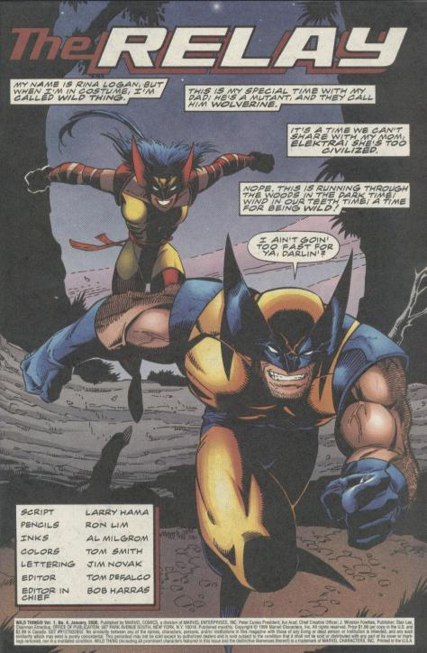 Wild Thing - Daughter of Wolverine #4 - Page 2