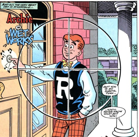 Are these the first crosshairs in the history of Archie?