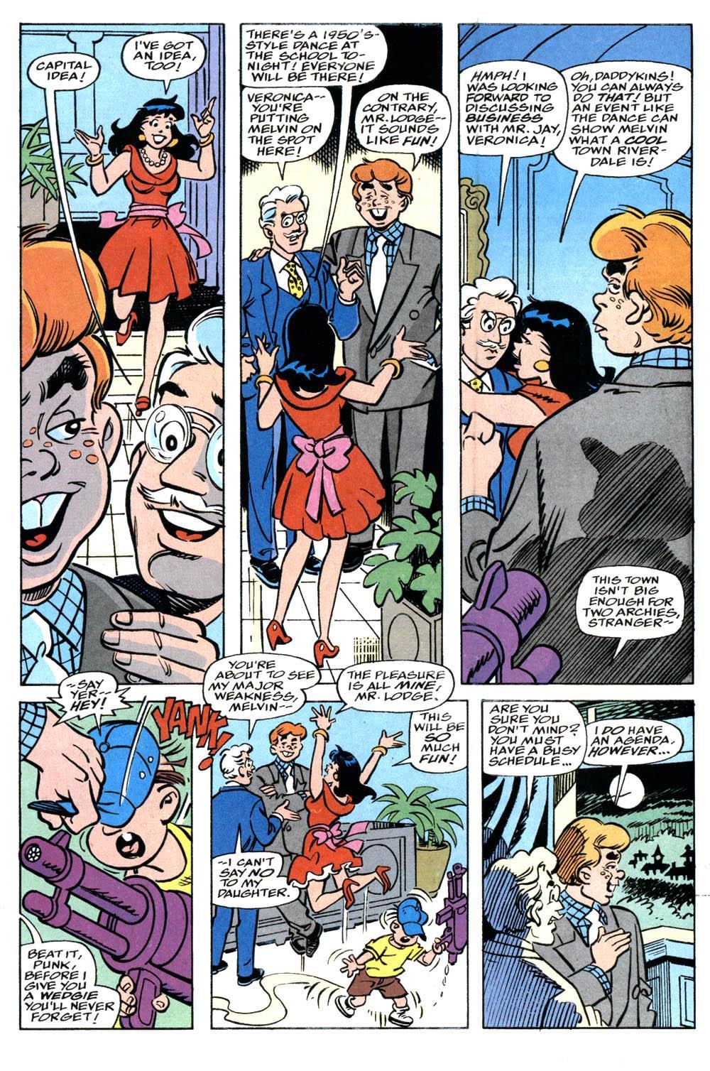 betty and veronica meet the punisher war