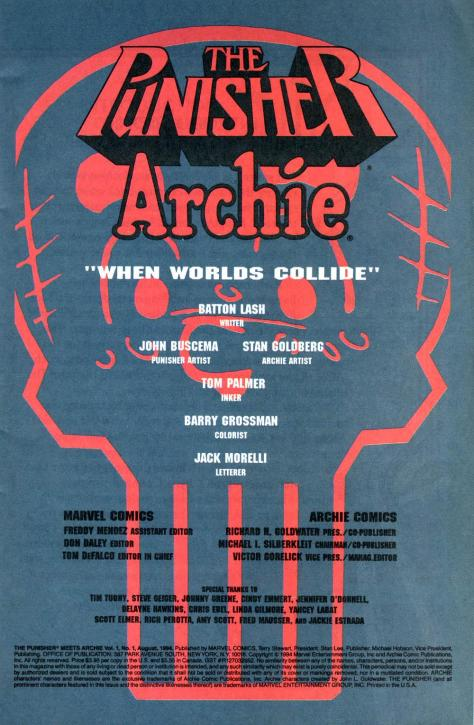 Punisher Meets Archie - When Worlds Collide #435 - Page 3