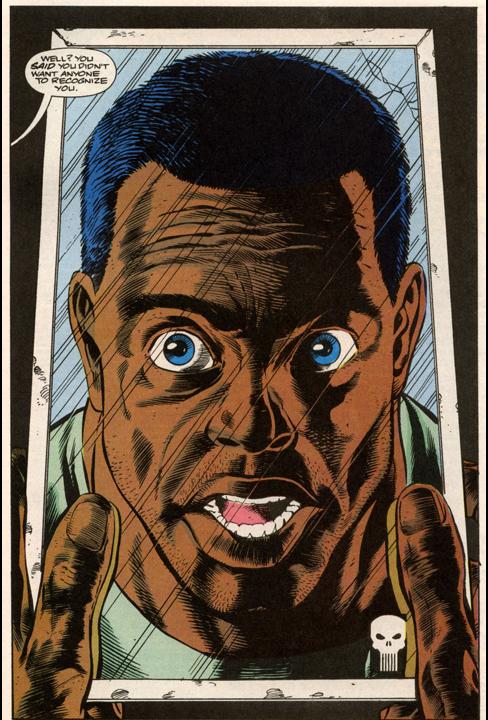 Resultado de imagem para Punisher Black dude
