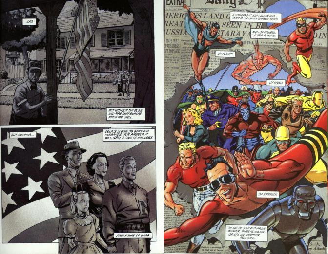 The Golden Age #4-Bravery When Battling The Enemy Within…