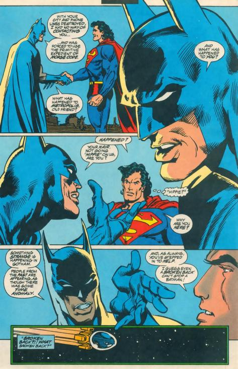 "The combination of Batman's gesture there with him accusing Superman of ""going hippie"" is basically the reason I started reading comic books."