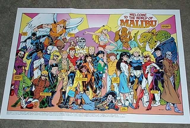 Protectors | The Unspoken Decade: 90's Comic Book Blog Extraordinaire