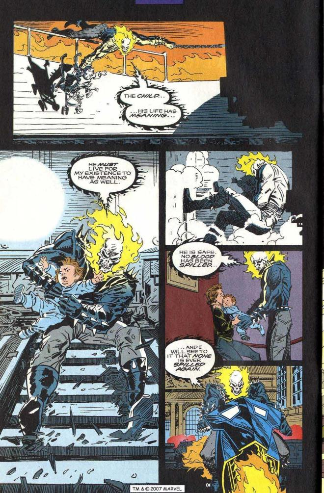 That's a pretty tall order, Ghost Rider.  Never let it be said that GR doesn't set the highest of goals.
