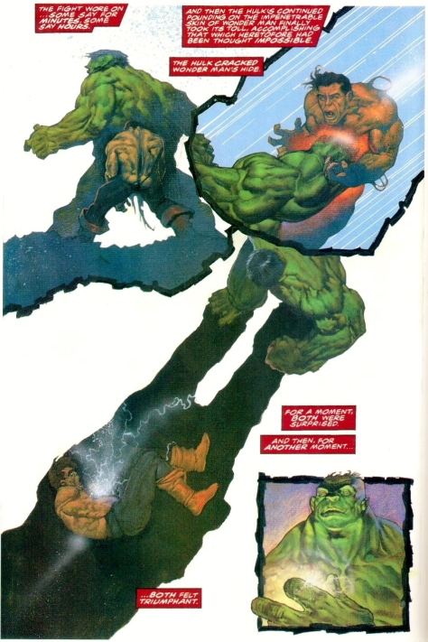 This is Wonder Man's finest story, by the way. Dying to take out the Hulk, the only foe the Avengers never truly defeated. If you have any recommendations otherwise, post below!