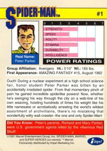 Marvel Universe Trading Cards - Series II (1991) - Page 2