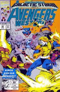 002- Avengers West Coast #80 - Page 1