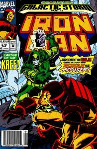 013- Iron Man #279 - Page 1