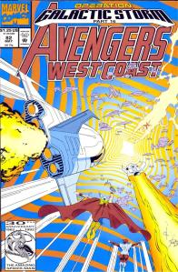 016- Avengers West Coast #82 - Page 1