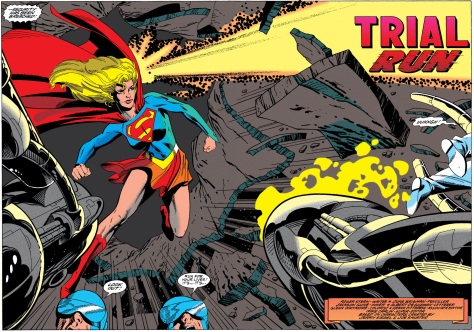 Anyone else get a Kevin O'Neill feel from this art? If he ever gets tired of drawing Alan Moore's Public Domain Fanfic it would be great to see a Supergirl story from him.