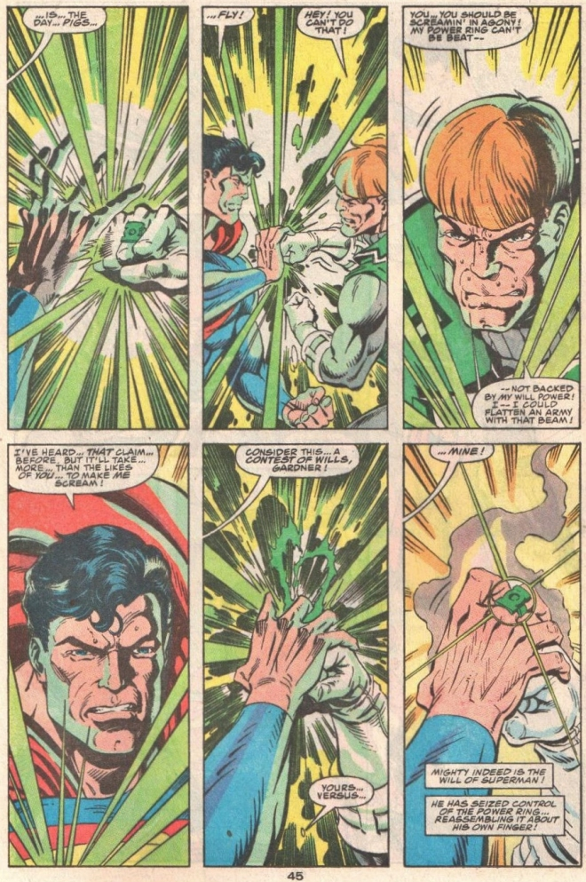 I will never tire of seeing Guy Gardner as the Right Wing's version of Green Arrow.