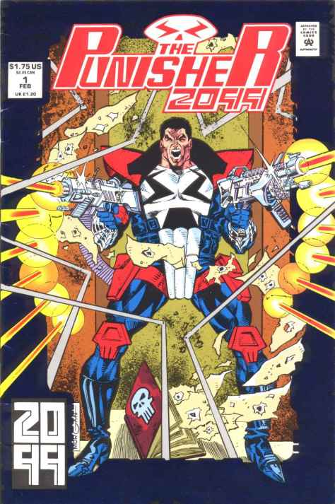 The Punisher 2099 #001 - 00