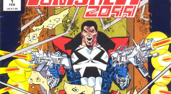 Six Weeks of Punishment: Punisher 2099 by Emily Scott