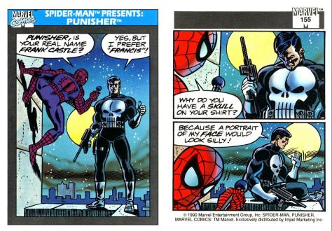Marvel Universe Trading Cards - Series I (1990) - Page 309