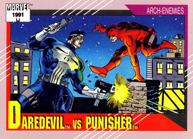 SIX WEEKS OF PUNISHMENT-PUNISHER TRADING CARD GALLERY