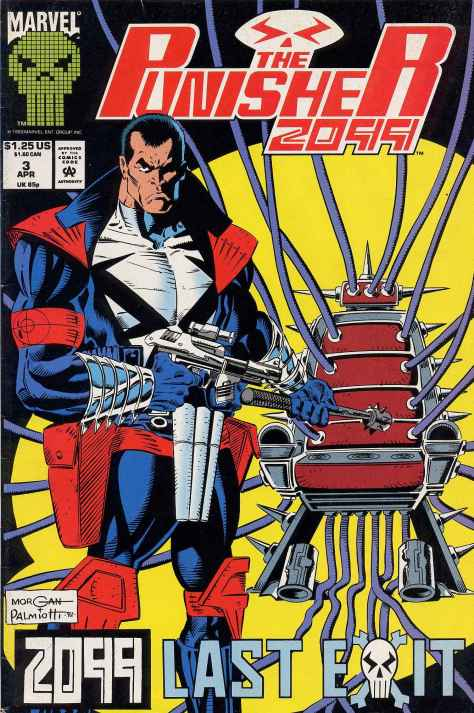 The Punisher 2099 #003 - 00