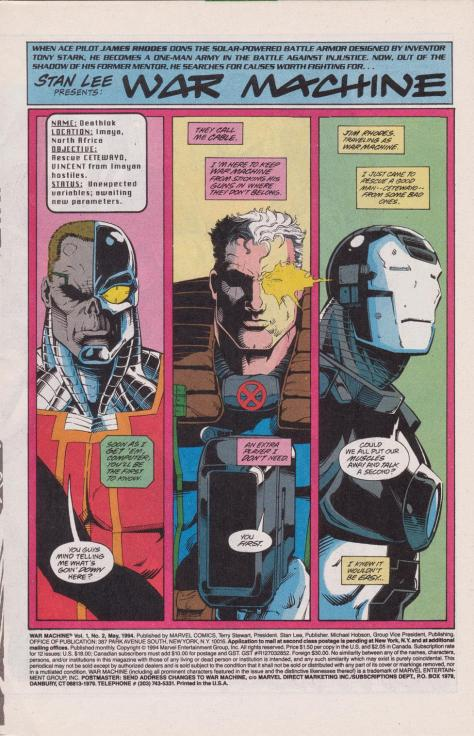 War Machine #2 - Page 2