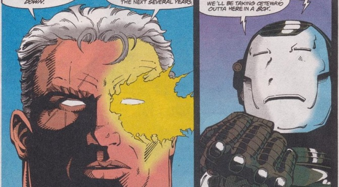 SBTU Presents VS:  War Machine vs. Cable