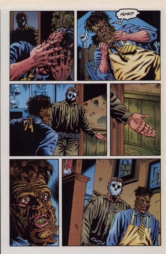Jason Vs Leatherface #1 (of 3) - Page 28