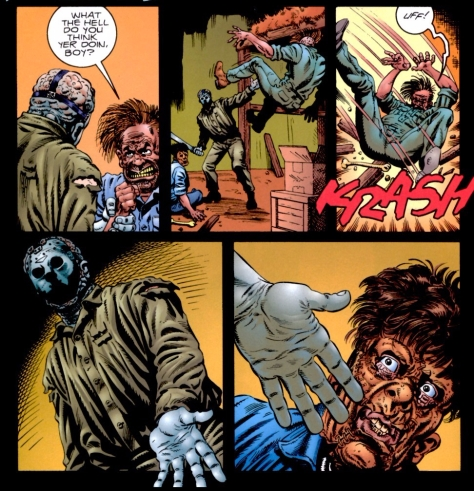 Jason Vs Leatherface #2 of 3_Jason_Vs_Leatherface_2_p22