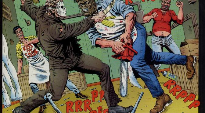 Slash Fiction:  Jason vs. Leatherface